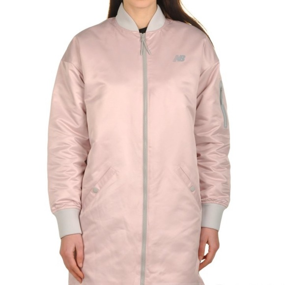 0c8ef33333f11 New Balance Jackets & Coats   247 Luxe Mai Flight Jacket   Poshmark